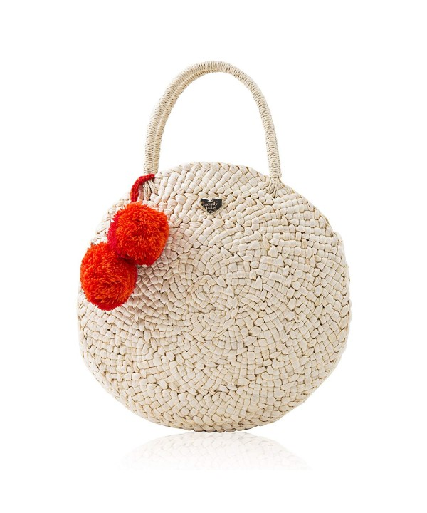 Lovely Tote Womens Round Natural