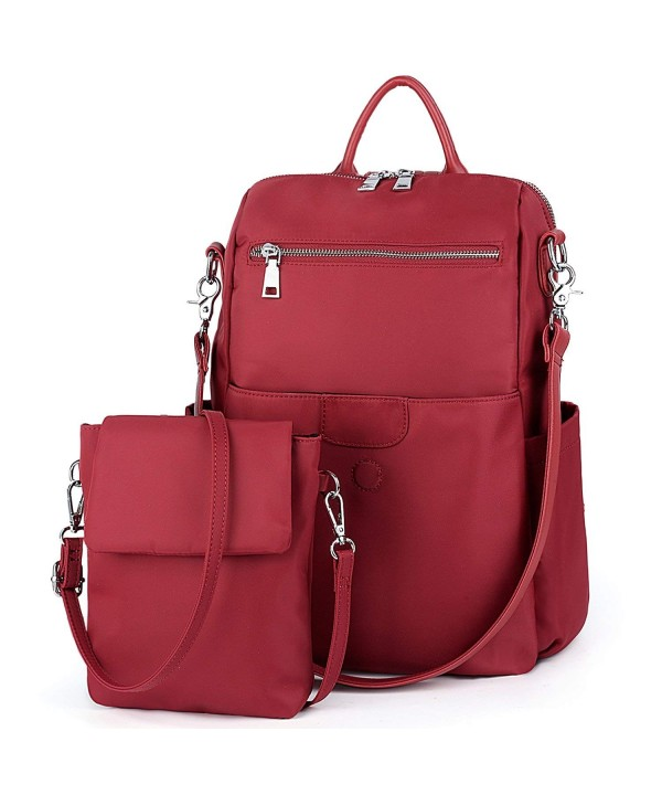 UTO Backpack Waterproof Detachable Crossbody