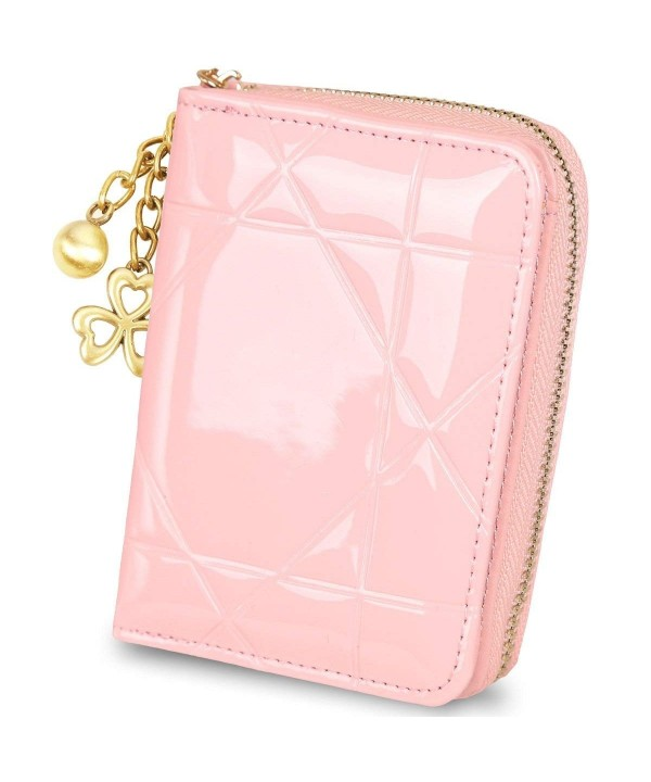 Wallet Leather Wallets Ladies Zipper