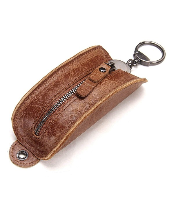 Contacts Genuine Leather Wallet Holder