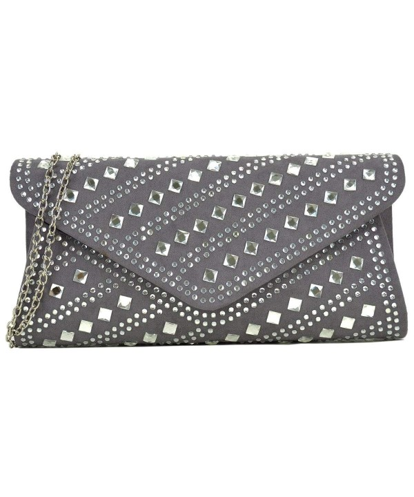 Dasein Rhinestone Evening Envelope Shoulder