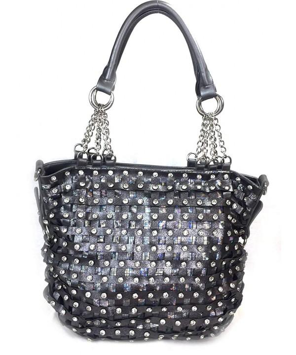 Zzfab Premium Classic Bling Handbag