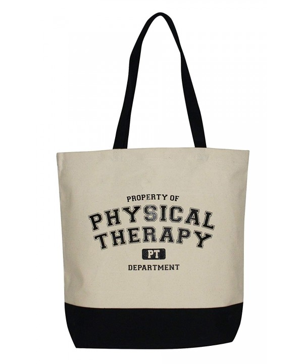 Property Physical Therapy Canvas Tote