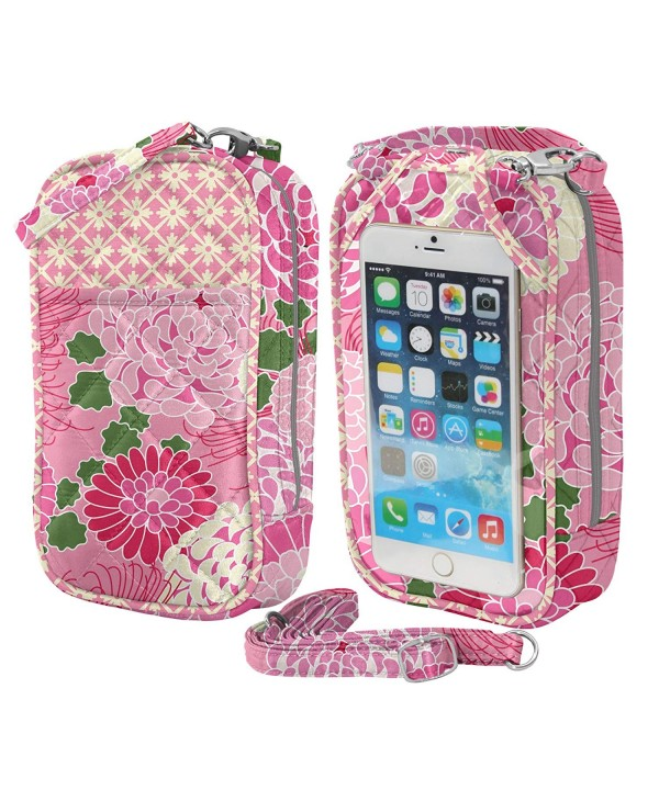 Charm14 Crossbody Phone Purse Quilt phones