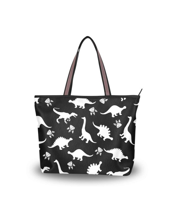JSTEL Handle Shoulder Dinosaurs Handbag