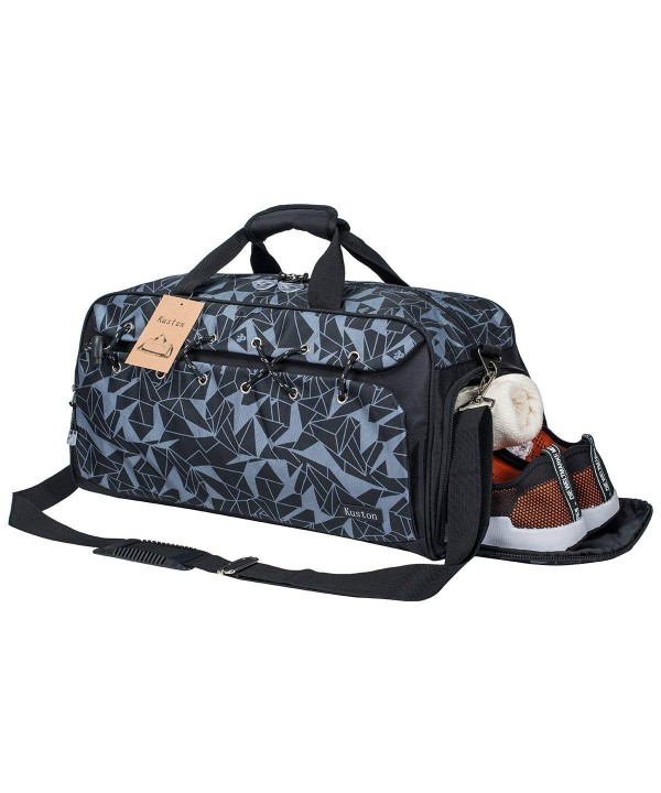 Sports Travel Duffel Compartment geometry