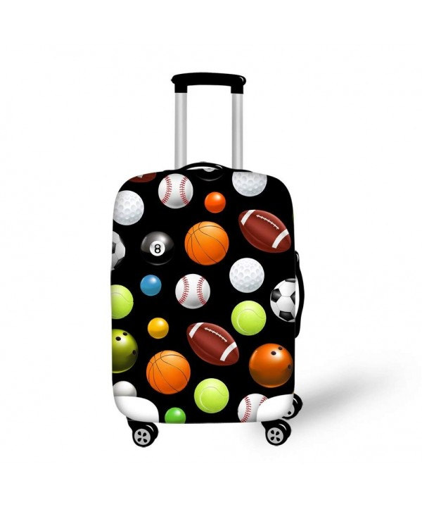 Balls Pattern Dustproof Luggage Elastic