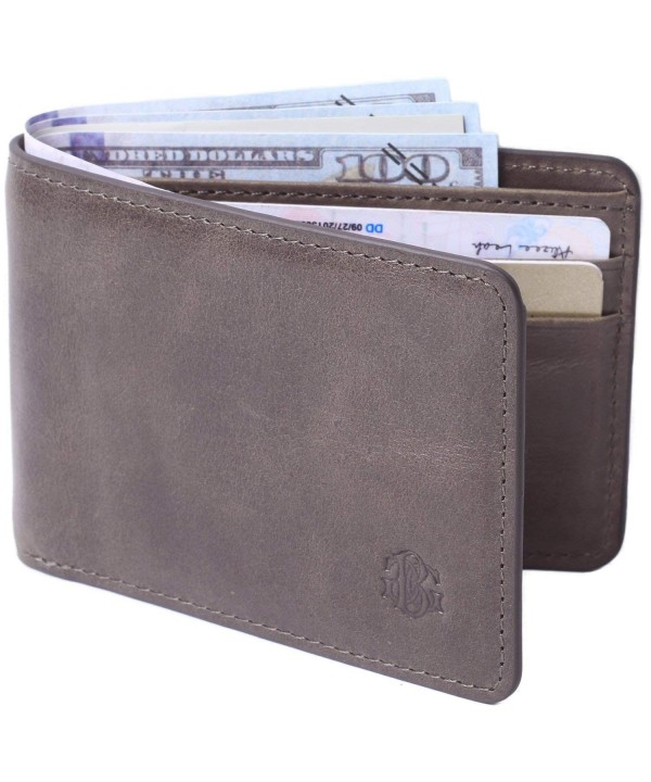 Pocket Leather Wallet Window Blocking