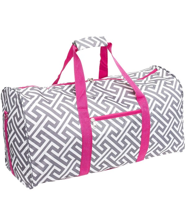 Silverhooks Greek Duffle Travel White