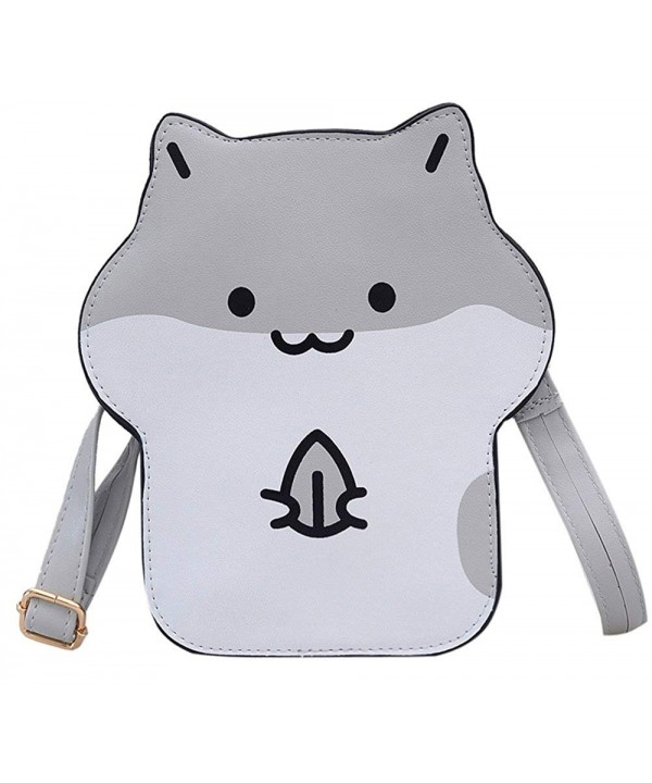 Cartoon Hamster Crossbody Shoulder Handbags