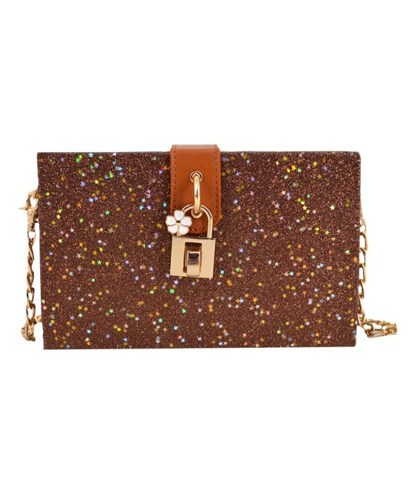 Shoulder Fashion Sequins Handbags Mily