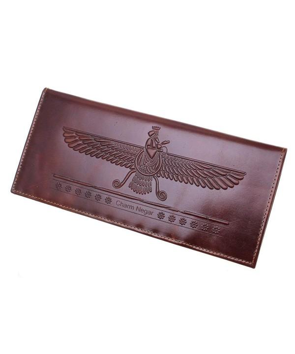 Asoodehdelan Genuine Farvahar Faravahar Checkbook