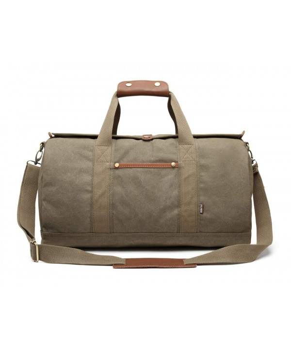 Overnight Weekend Weekender Canvas Vintage