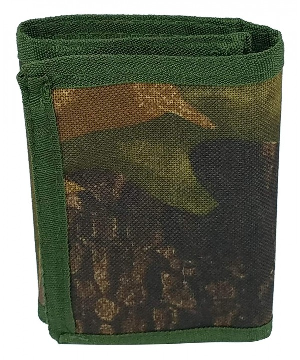 3oaks Camo Tri fold Wallet Holder