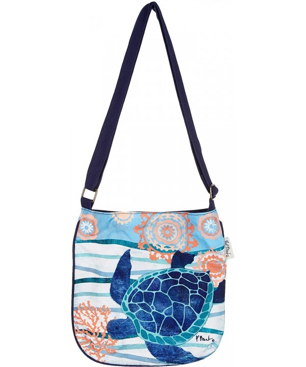 Sand Ocean Treasures Cross Handbag