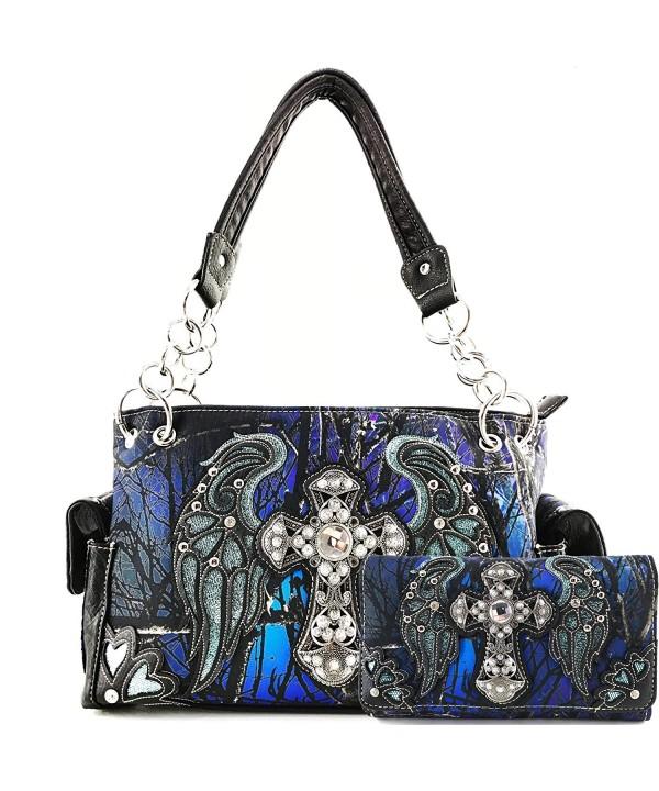 Justin West Concealed Handbag Wallet