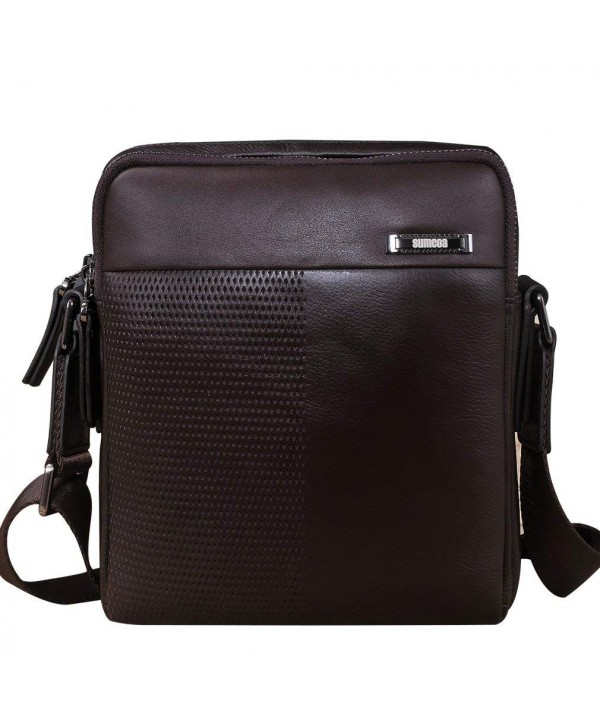 Sumcoa Genuine Leather Crossbody Messenger