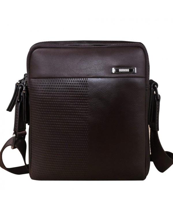 Sumcoa Genuine Leather Crossbody Messenger
