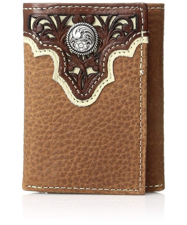 Ariat Circle Trifold Western Wallet
