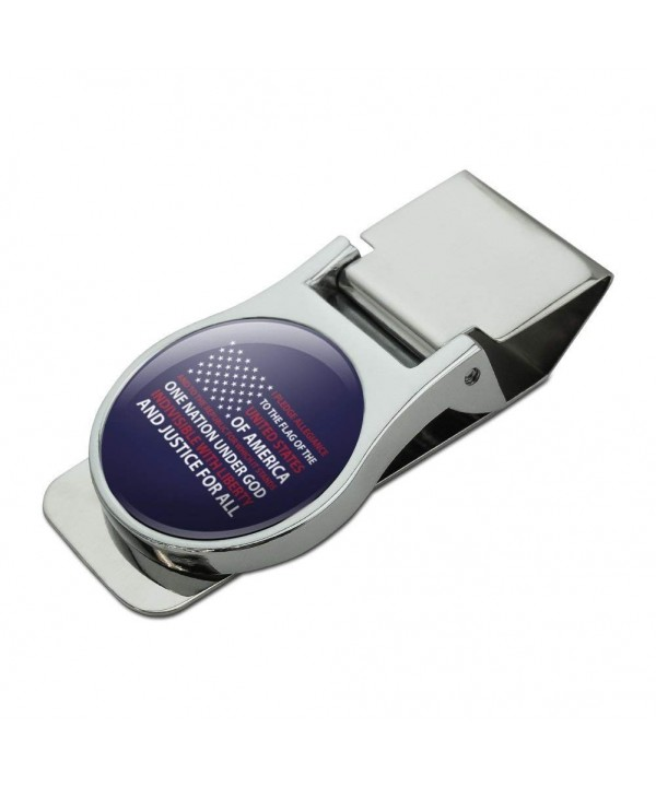 Pledge Allegiance America Chrome Plated