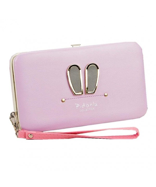 Wristlet Leather Cellphone Evening Handbag