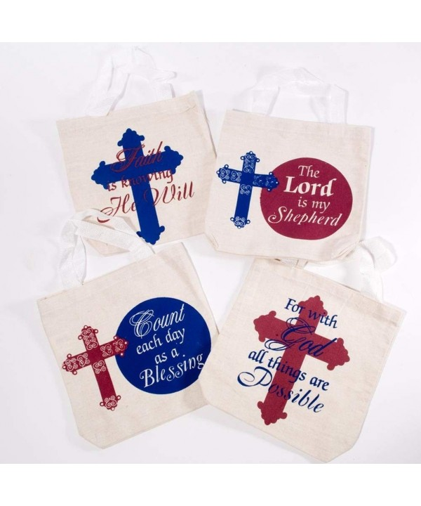 Century Novelty Religious Canvas Tote