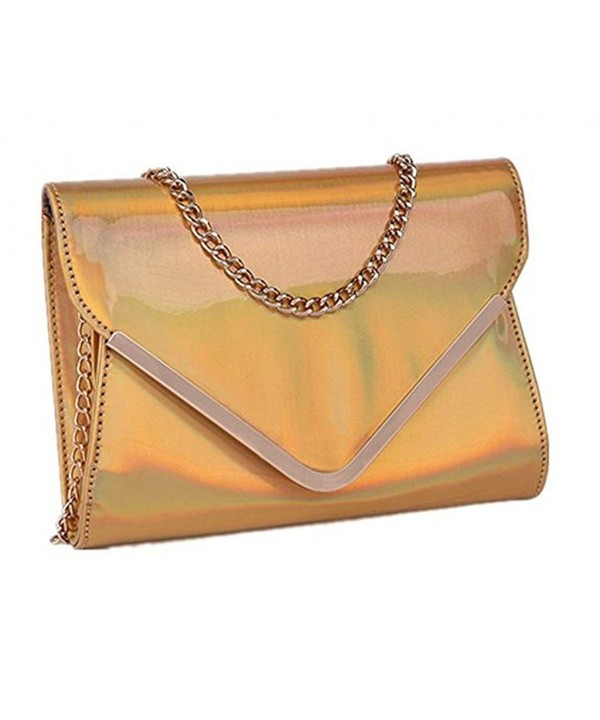 Marchome Holographic Envelope Corssbody Shoulder