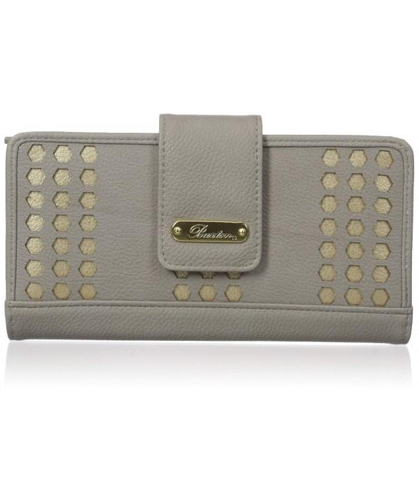 Buxton Laser Medium Metropolitan Wallet