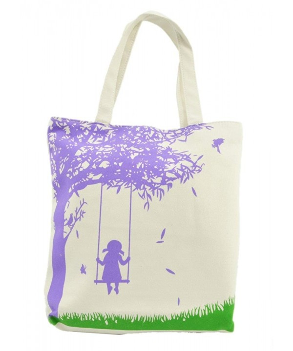 LSW Girl Swing Canvas Purple