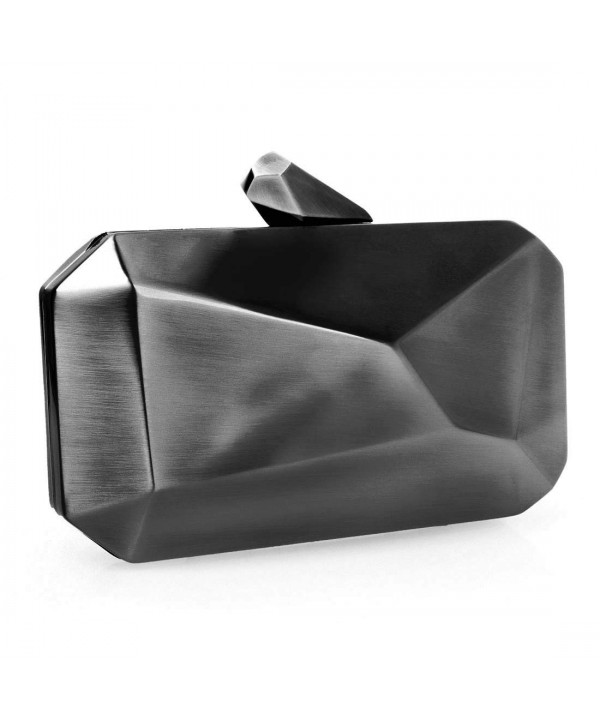 Gunmetal Colored Abstract Hardcase Shoulder