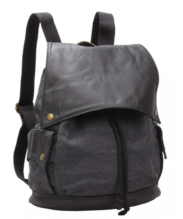 Leather Daypack Backpack Rucksack BK 001