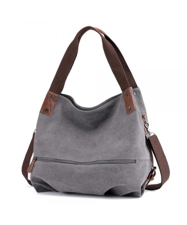 Canvas Handbag Women S Shoulder Bags Casual Large Tote Crossbody Bag Weekend Ping For Ca18elytmaz