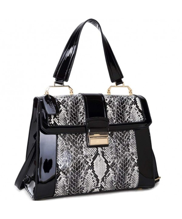 Dasein Fashion Satchel Handbags Shoulder