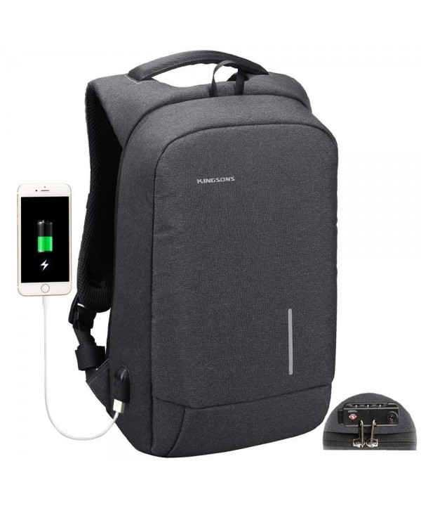 Backpack Kingsons Anti Theft Resistant 15 6 Inch