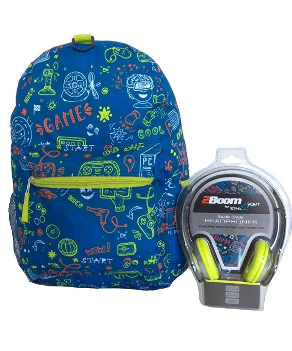 FAB Starpoint Gamer Backpack Headphones