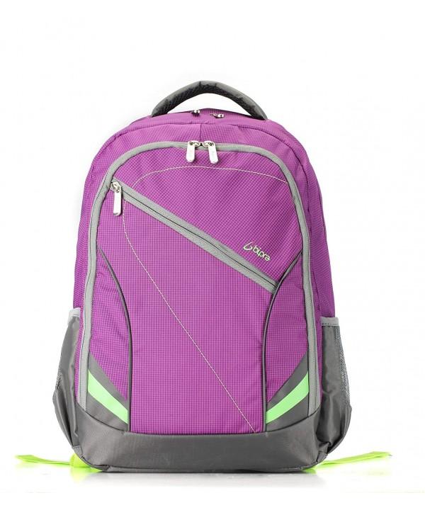 Backpack Purple Suitable Laptops Computers