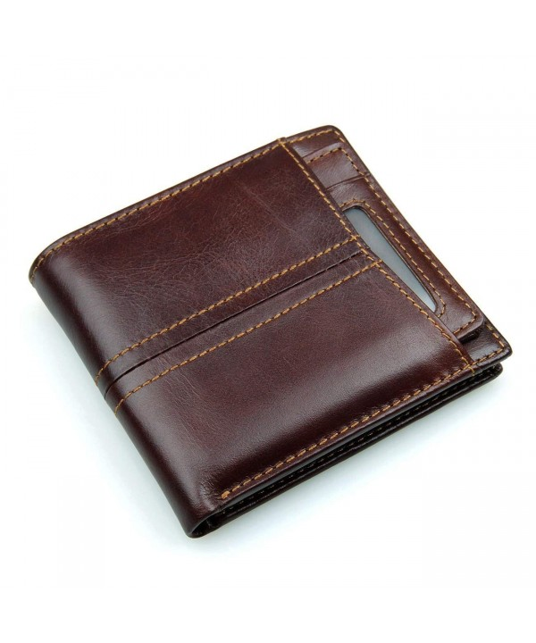 Leaokuu Genuine Leather Passcase Horizontal