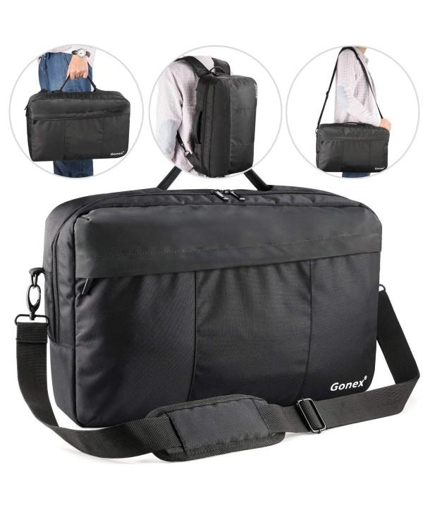 Briefcase Backpack Gonex Convertible Shoulder