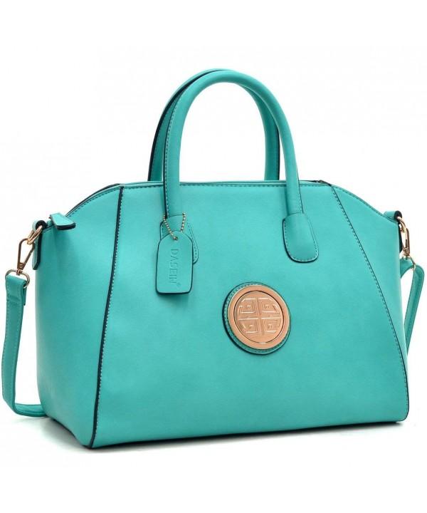 Dasein Weekender Designer Satchel Handbag