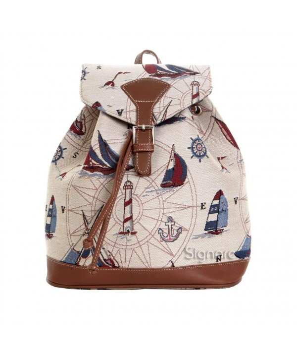 Signare Tapestry Backpack Nautical RUCK YAC