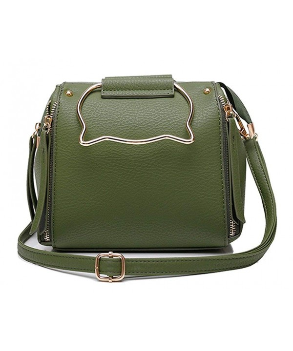 XMLiZhiGu Crossbody Shoulder Leather Handbag