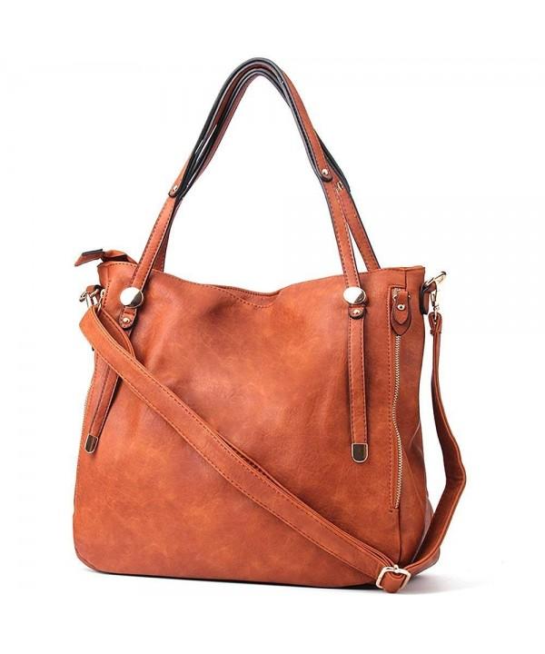 Handbags Women JOYSON Shoulder Leather