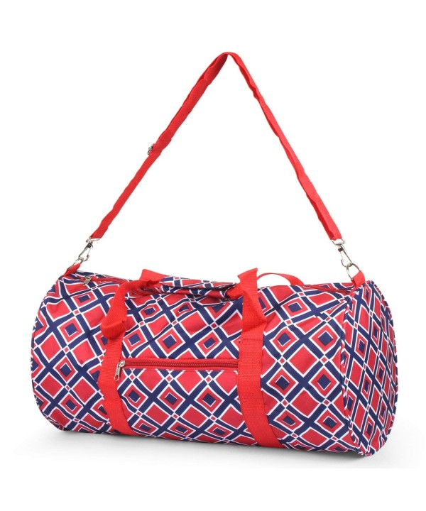 Zodaca Classic Duffel Travel Square