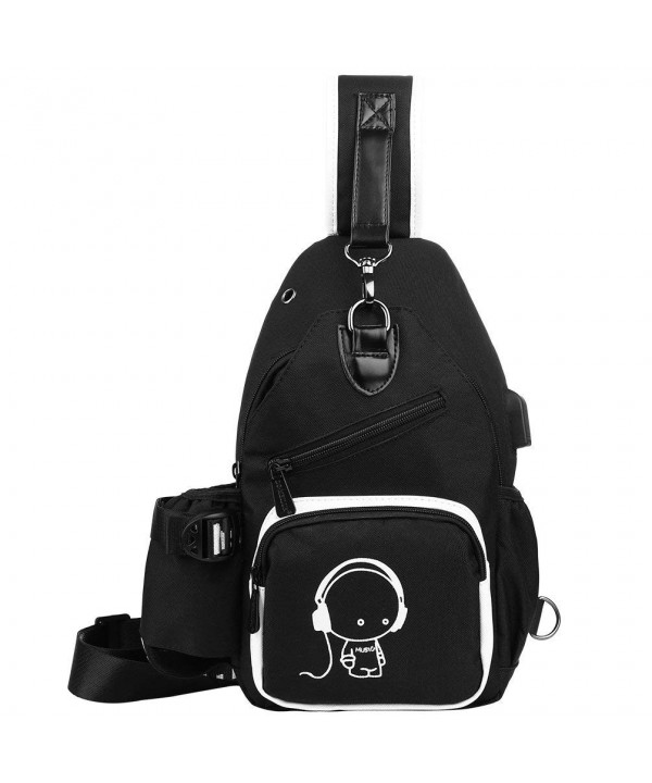 Vbiger Outdoor Reflective Crossbody Charging
