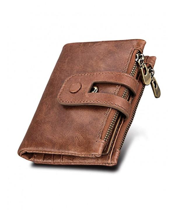 Wallet Genuine Leather Vintage Black