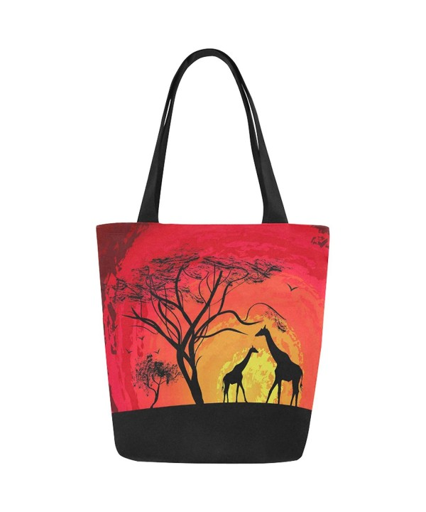 InterestPrint Animal Giraffe Shoulder Handbag