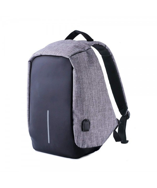 Anti Theft Backpack USB Charging Port