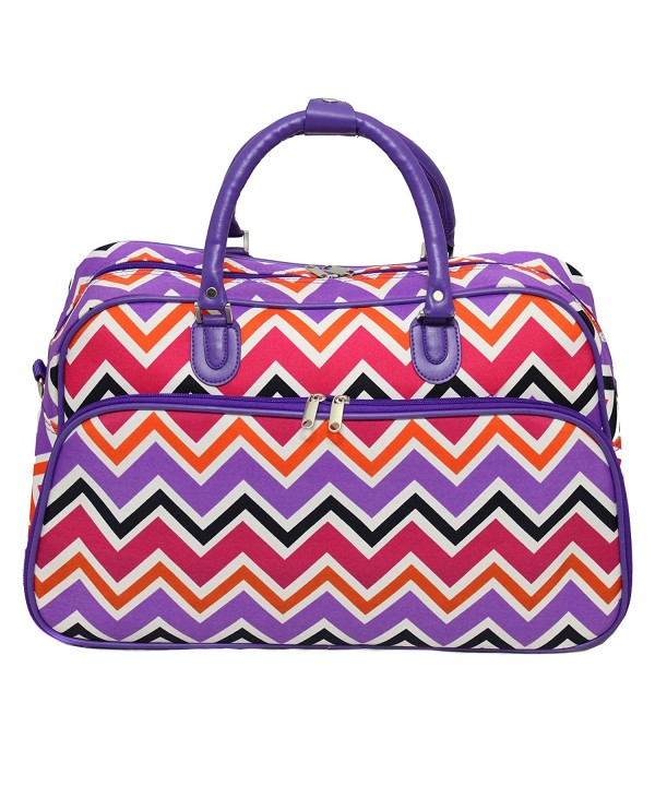 World Traveler 21 Inch Shoulder Chevron