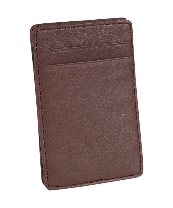 Royce Leather Magic Wallet Brown