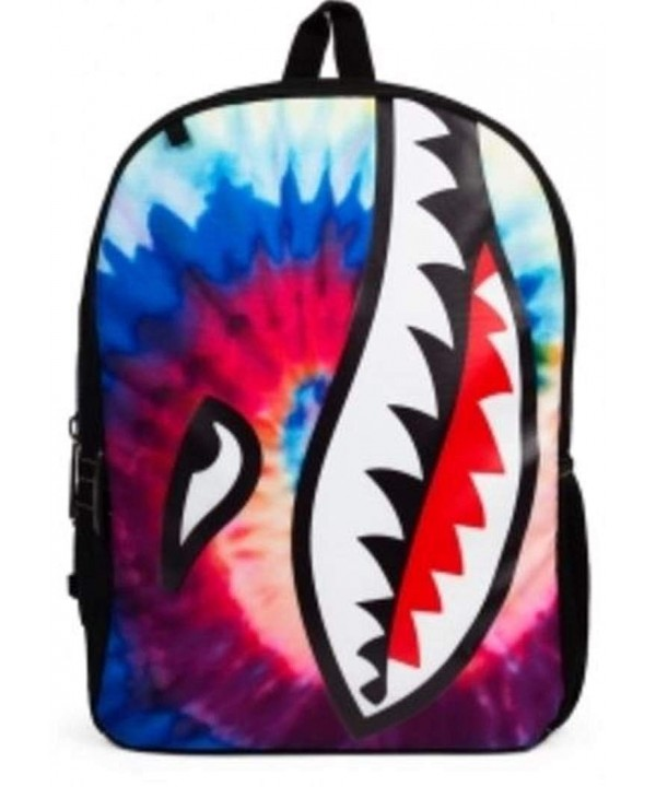 Mojo Life Tie Dye Shark Backpack